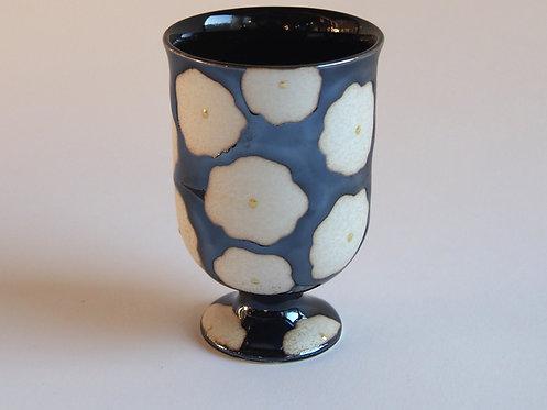 黒花真珠 ミニワインカップ