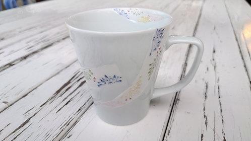 花リボンマグカップ