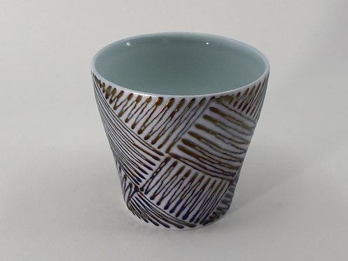 鉄線描 ロックカップ