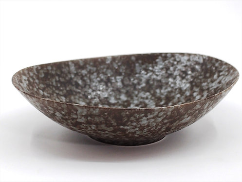 sino・nome/oval bowl-gray