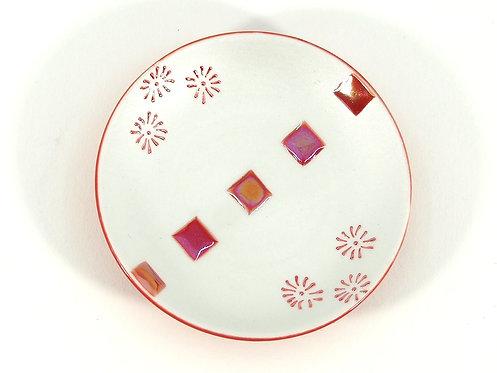 紅連角 まめ皿