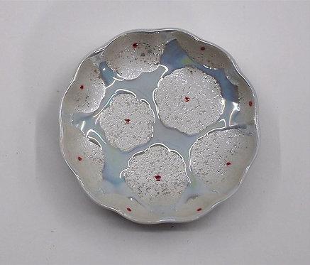 白花真珠 まめ皿