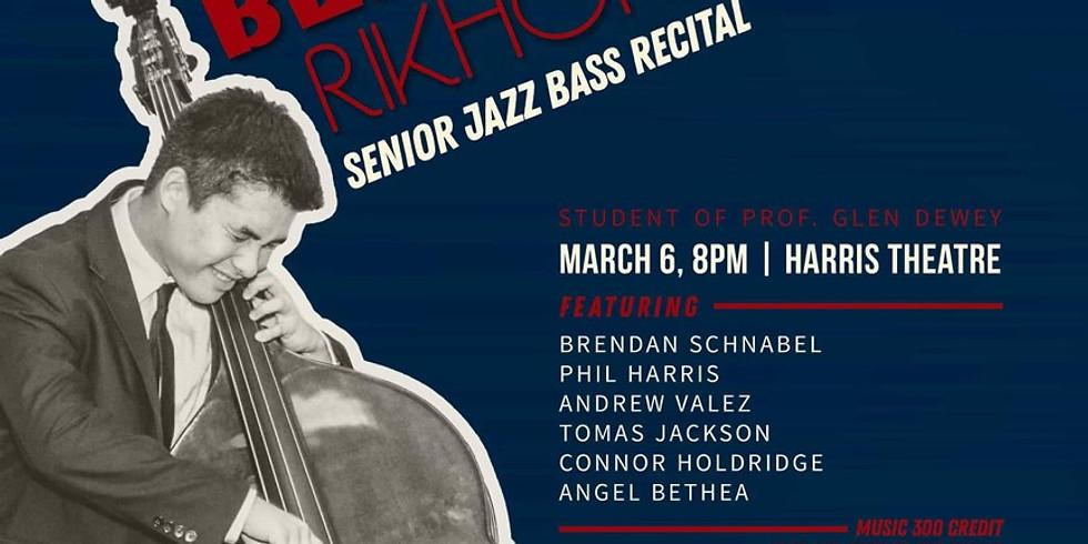 Ben Rikhoff's Senior Recital