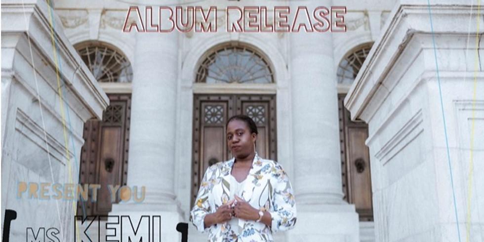 Kemi Adegoroye @S.N.R.G Album Release Show!