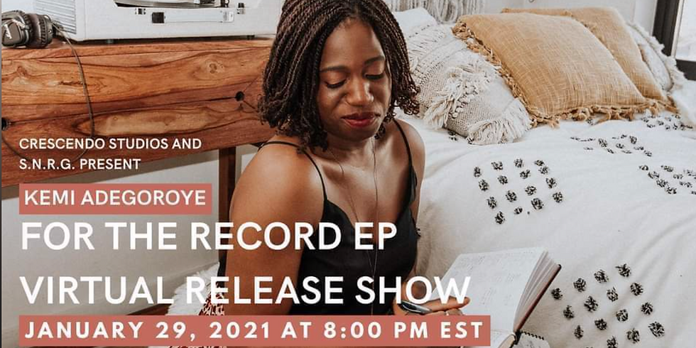 For the Record EP Virtual Release Show