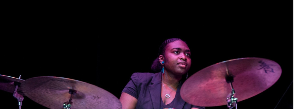 Taken at a concert in the Center for the Arts, by Mr. Evan Cantwell