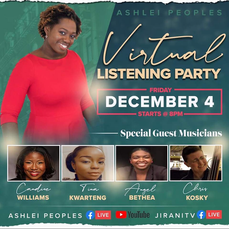 """Our Savior is Born"" Virtual Listening Party"
