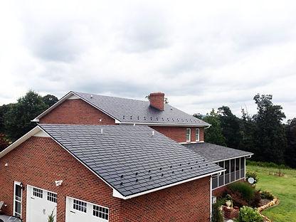 Black Aluminum Slate Metal Roof