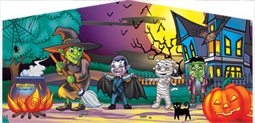 mad hatter halloween banner 3