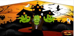 mad hatter halloween banner 2