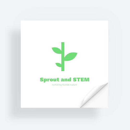 Sprout and STEM Sticker