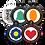 Thumbnail: Shape Style Pet ID Tag (5000+ units)