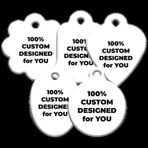 Custom Design Pet ID Tag (1000 - 2250 units)