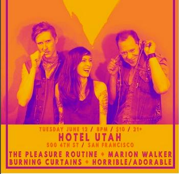 June 12, 2018 @ Hotel Utah, San Francisco