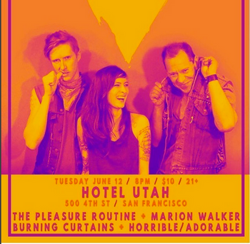 June 12, 2018 @ Hotel Utah, San Francisco