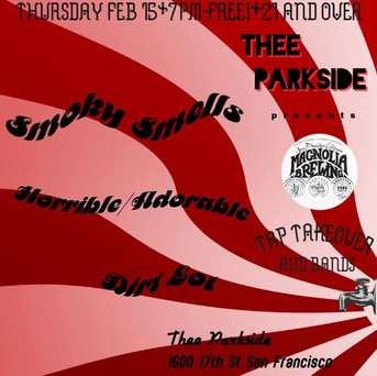 Feb 15, 2018 @ Thee Parkside San Francisco
