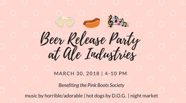 March 30, 2018 @ Ale Industries Oakland
