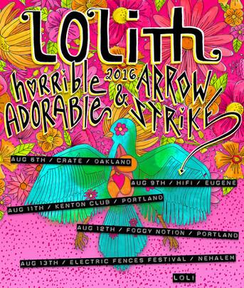 August 2016 LOLith Fair PNW Tour