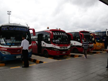 El sonar: Bioseguridad en buses intermunicipales