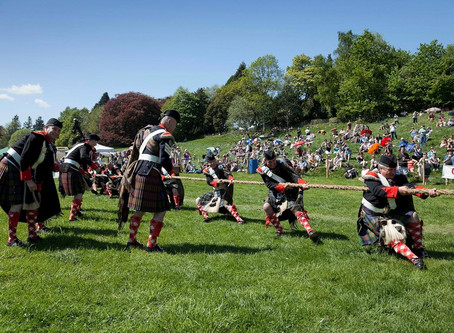 How are the Highland Games Celebrated Today?