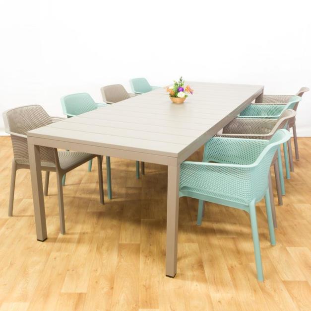 שולחן גן ריו כורסאות נט