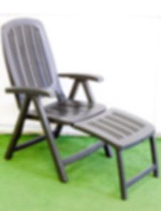 כיסא נוח לגינה