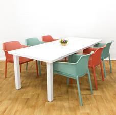 שולחן לבנטה כיסאות נט