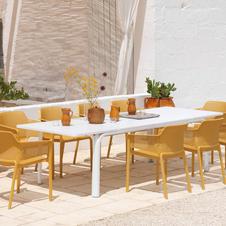 שולחן אלורו כיסאות נט