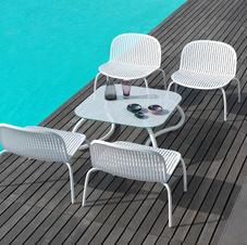 שולחן וכיסאות אלומיניום נינפאה רילקס
