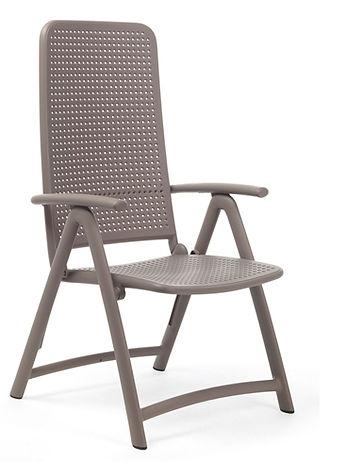 ריהוט למרפסת - כיסא נוח מתקפל