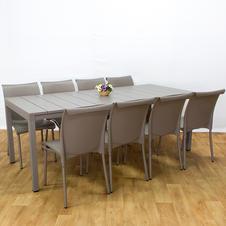 שולחן ריו כיסאות רגינה
