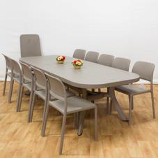 שולחן הגדלה טוסקנה 250 כסאות בורה ביסטרו