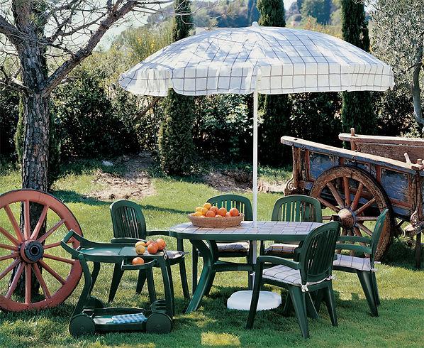 ריהוט למרפסת - עגלת הגשה לגינה