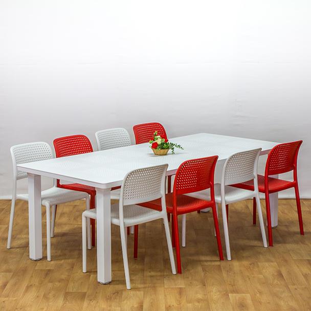 שולחן לבנטה כיסאות בורה ביסטרו