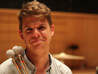 Introducing the Soldiers of Soldier's Tale: Alexander Haupt, Percussion