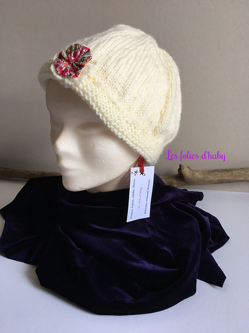 "Bonnet ""rose liberty"""