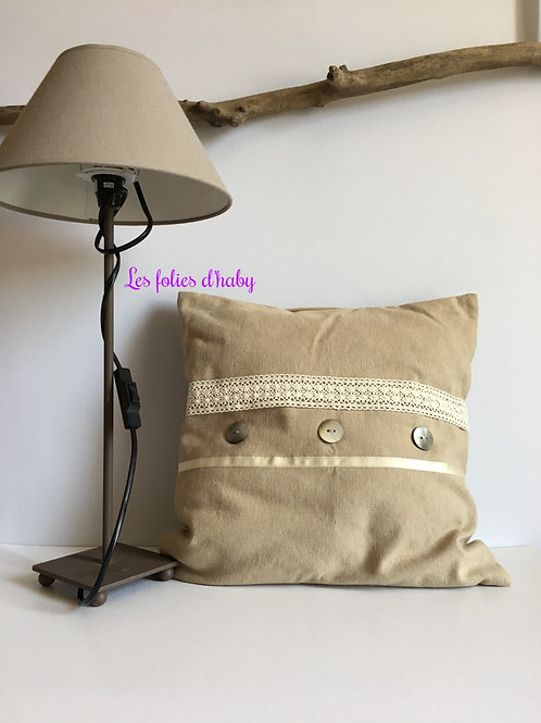 Coussin nacre