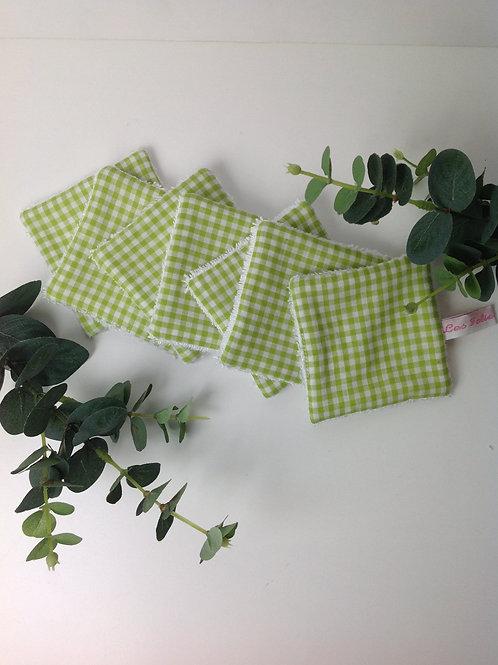 Lingettes démaquillantes vichy vert  (7)