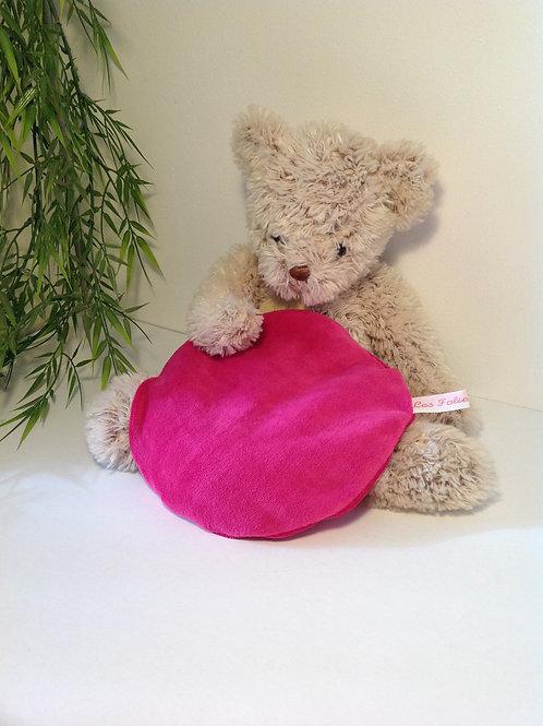Bouillotte sèche en graines d'orge rose