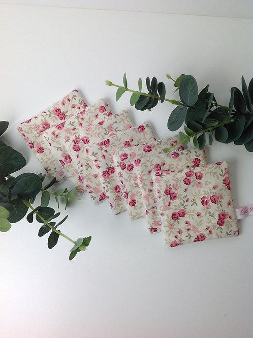 """Lingettes démaquillantes  """"Bouquet de roses"""" (7)"""