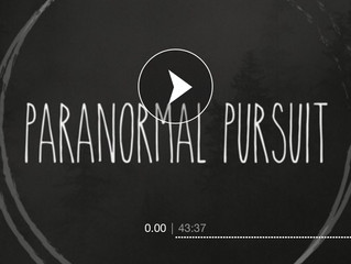 "Happy Halloween 2018. Podcast Paranormal Pursuit ""Halloween Edition"" - Interview covering"