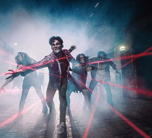 Zombie Makeup | Zombie Lasertag