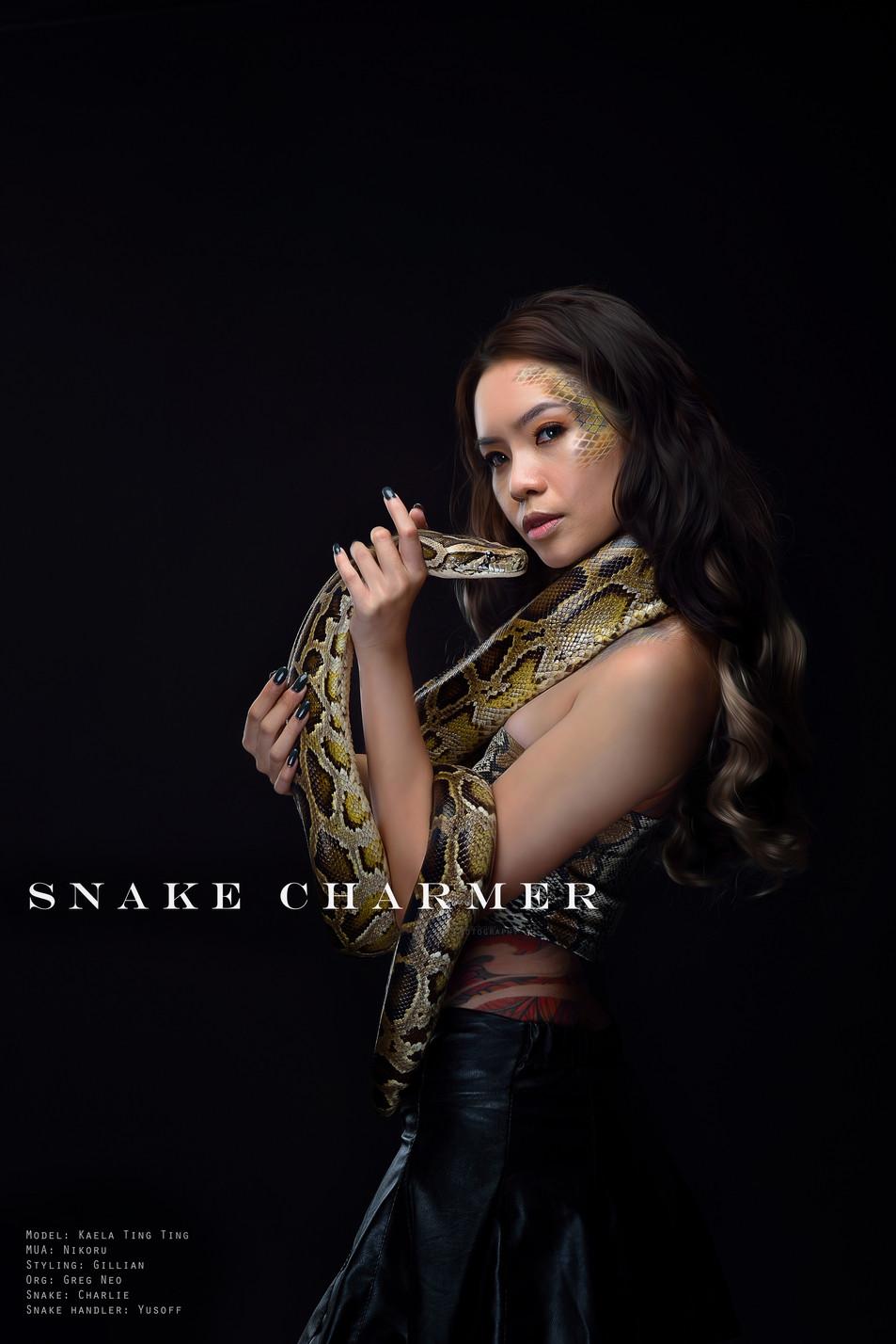Snake Conceptual Makeup