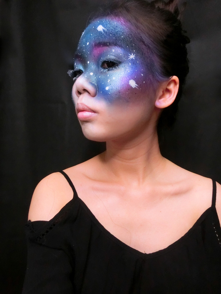 Galaxy Airbrush Makeup