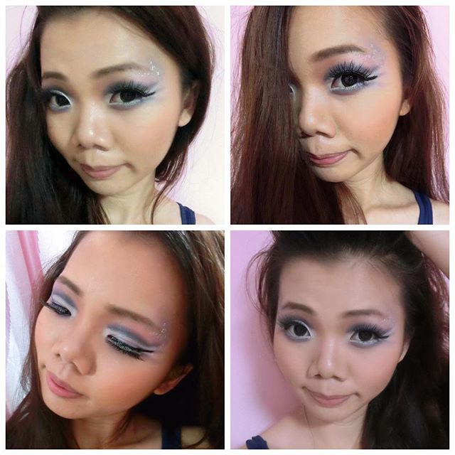 The Dramatic Make up _#dramatic #dramaticeyes #dramaticmakeup #dramaticlook #makeup #makeupartist #m
