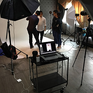 Commercial Photoshoot BTS