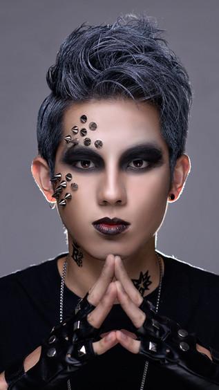 Punk Makeup and Hair