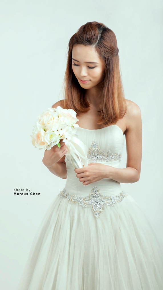 [The Beautiful Brides]: Chelsea Tan by Singapore Makeup Artist Nikoru Nicole
