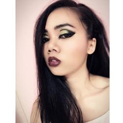 Punk make up eyeliner in Color _#punk #punkstyle #punklook #punkmakeup #eyeliner #eyelineronpoint #m