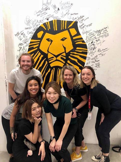 the-lion-king-singapore-hair-makeup-team-